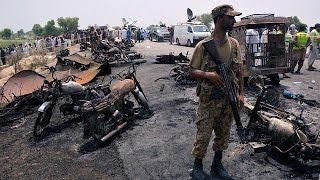Pakistan oil tanker blast kills more than 140 people thumbnail