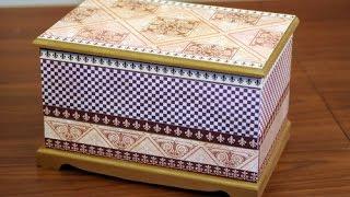 Contracolado Artistico - Decorar cajas - Miguel Lucero