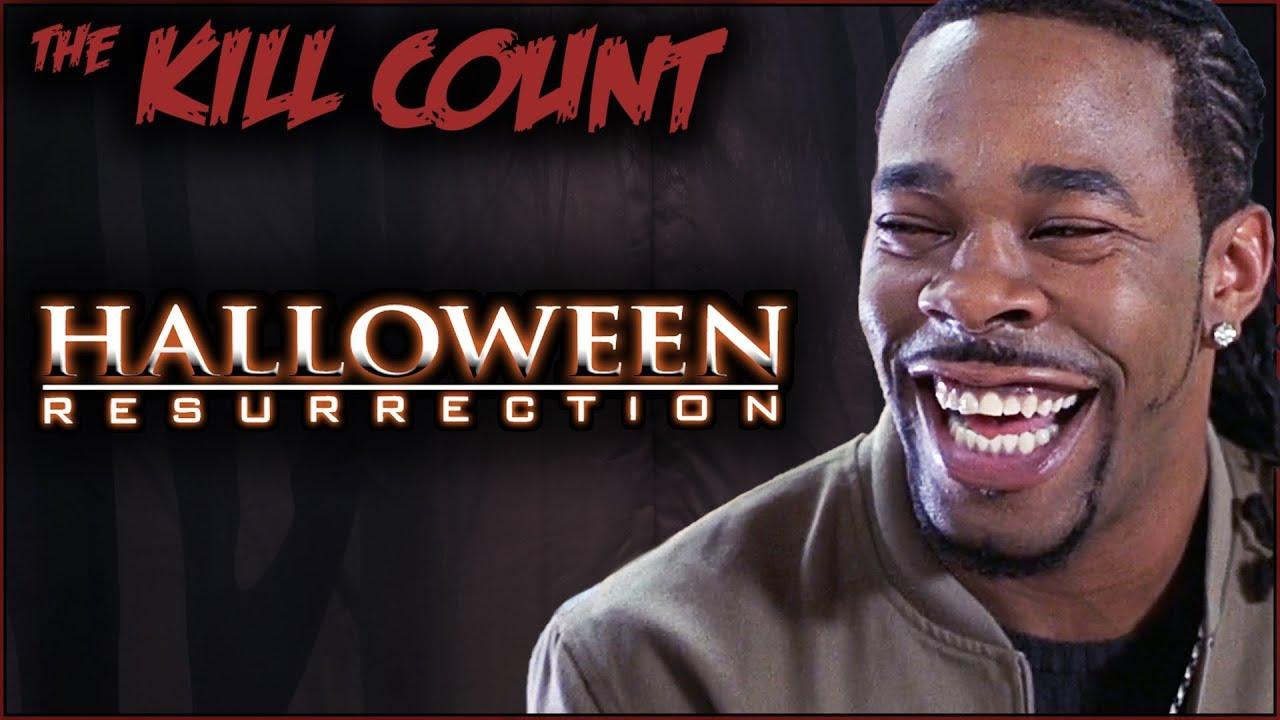halloween: resurrection (2002) kill count - youtube