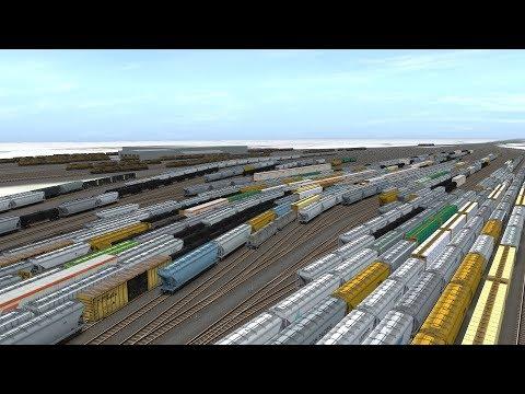 015 Trainz Hump Yard Fully Automated