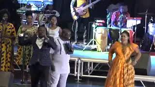 Rev. Obaapa Christy at Abba father with her powerful voice