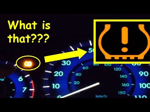 Strange Dashboard Warning Light - Fix Low Tire Pressure  sc 1 st  YouTube & Strange Dashboard Warning Light - Fix Low Tire Pressure - YouTube azcodes.com