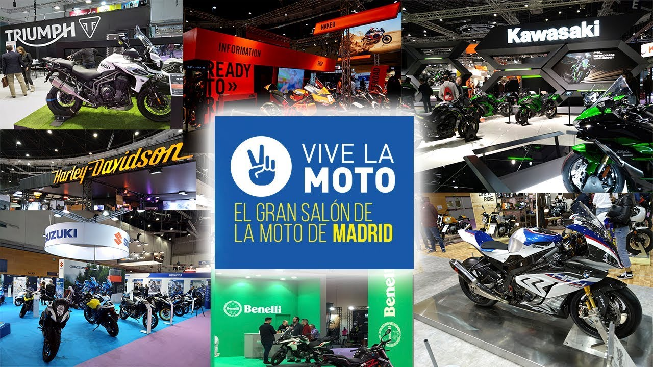 vive la moto 2018 sal n de la moto de madrid youtube. Black Bedroom Furniture Sets. Home Design Ideas