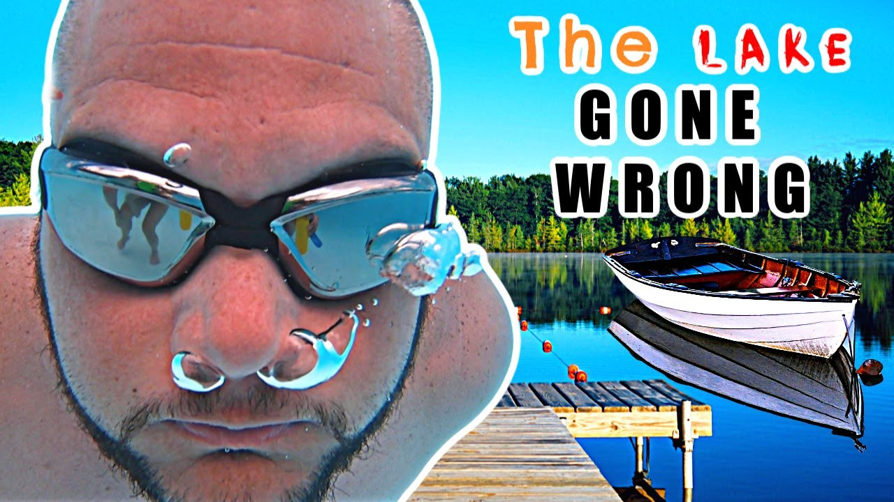STUCK in THE MIDDLE OF a LAKE! HELP?! FUN and Crazy FAMILY VLOG