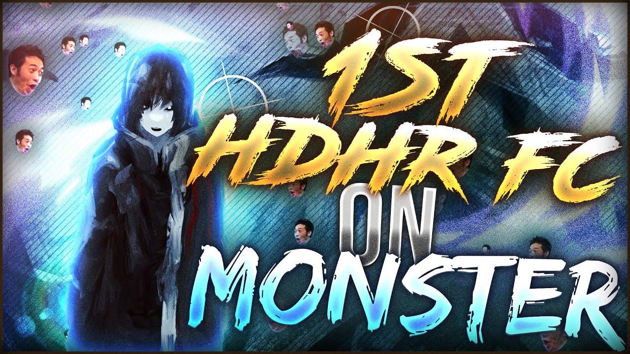 osu! BIG HANDCAM on MONSTERS +HDHR #1 FC | WhiteCat
