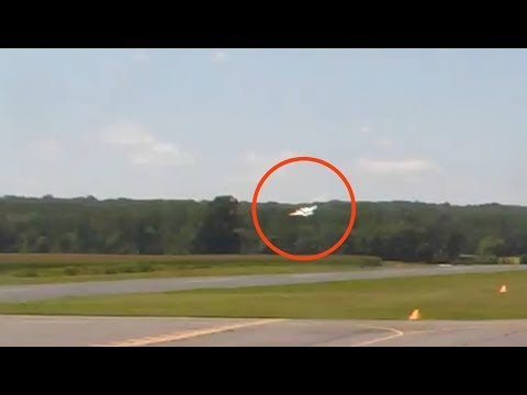 cctv-of-beech-baron-crash-at-shannon-airport,-fredericksburg,-va