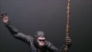 Review #16 - Pop Culture Shock Dawn of the Planet of the Apes Caesar 1/4 statue
