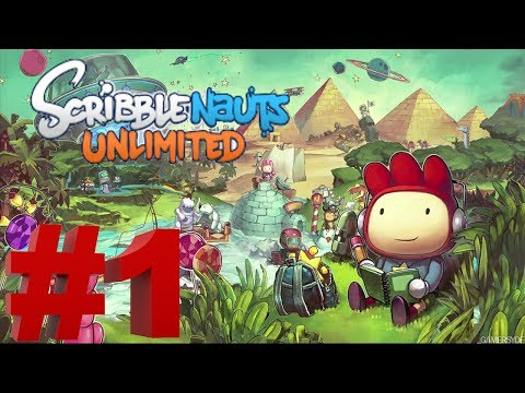 Scribblenauts Unlimited   No Commentary   Pt 1 |