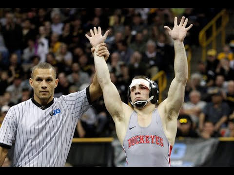 Ohio State's Nathan Tomasello chasing NCAA Wrestling Championship at home (video)