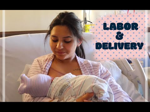 INDUCED Labor and Delivery Vlog