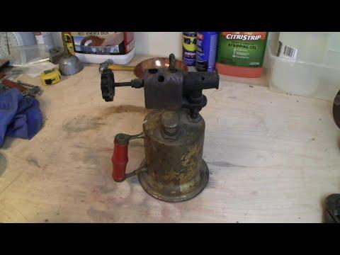 Antique Torch Restoration FAIL