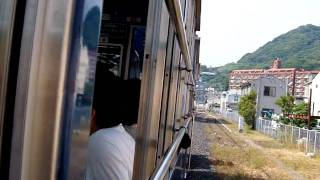 門司港レトロ・潮風号(出光美術館駅~ノーフォーク広場駅)