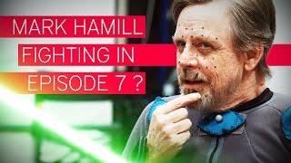 Is Luke Skywalker fighting? | Mark Hamill Interview [3/3]