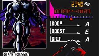 [F-Zero X] Black Shadow en Sand Ocean 2
