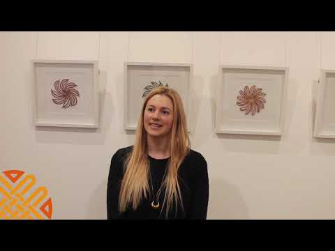 Meredith Woolnough chats about her exhibition The Embroidered Thread