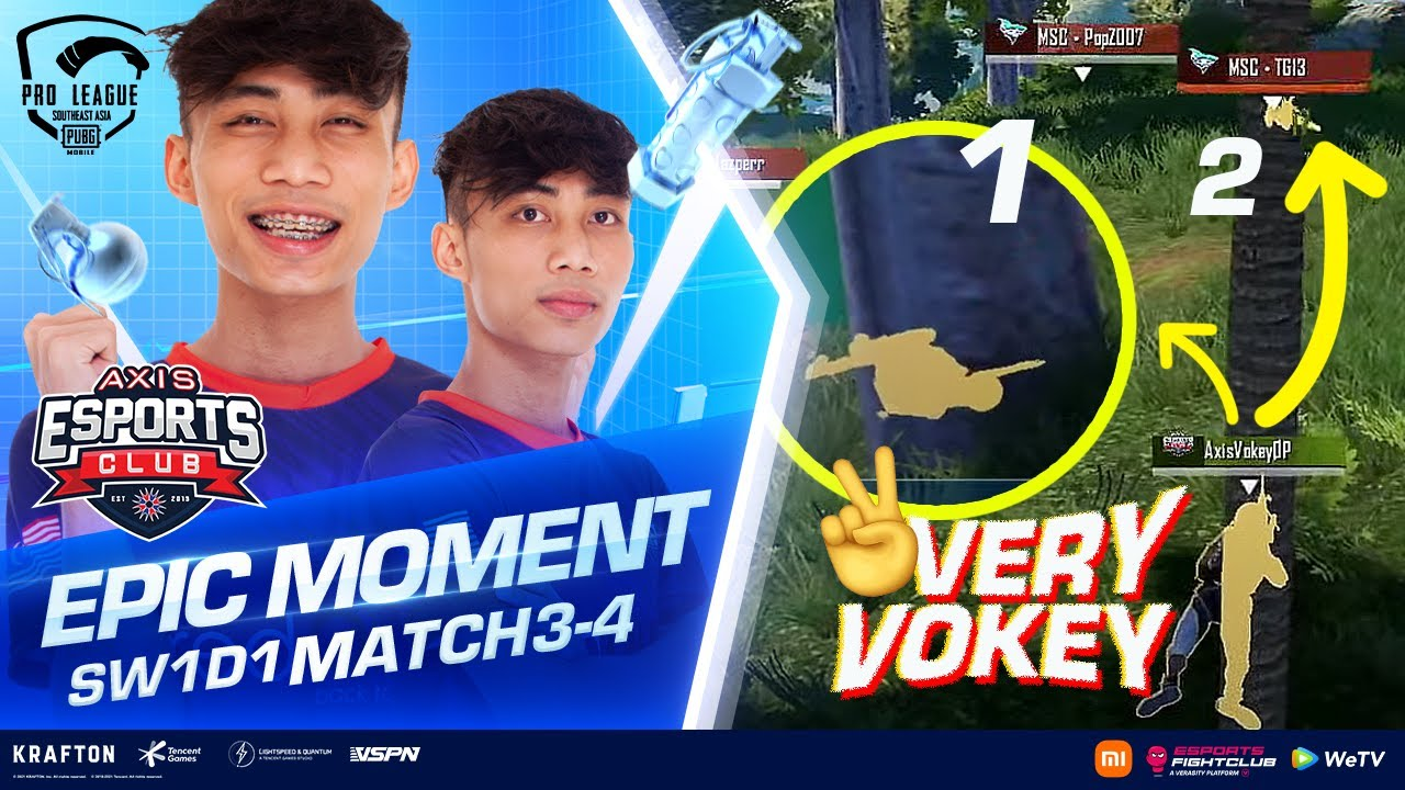 Download 💯 TRAP: AXIS Vokey 1 LAWAN 2 🔥🔥 | Highlights #2 SW 1 Day 1 PMPL SEA S4