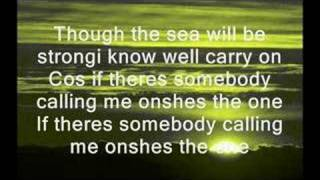 Robbie Williams - Shes The One (Lyrics)