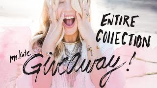 GIVEAWAY!! Win the Entire Mr. Kate Dusk Jewelry Collection! Over $1000 Retail Value!