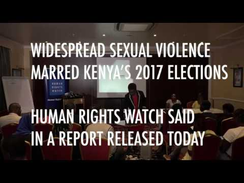 HRW: Kenya security forces involved in sexual violence