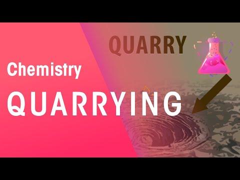 Quarrying | Environmental Chemistry | Chemistry | FuseSchool