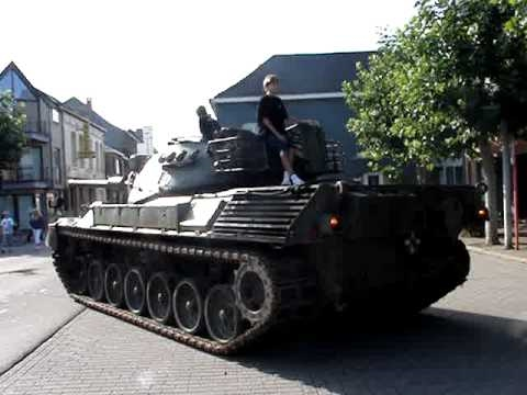 Leopard 1A1 Driving