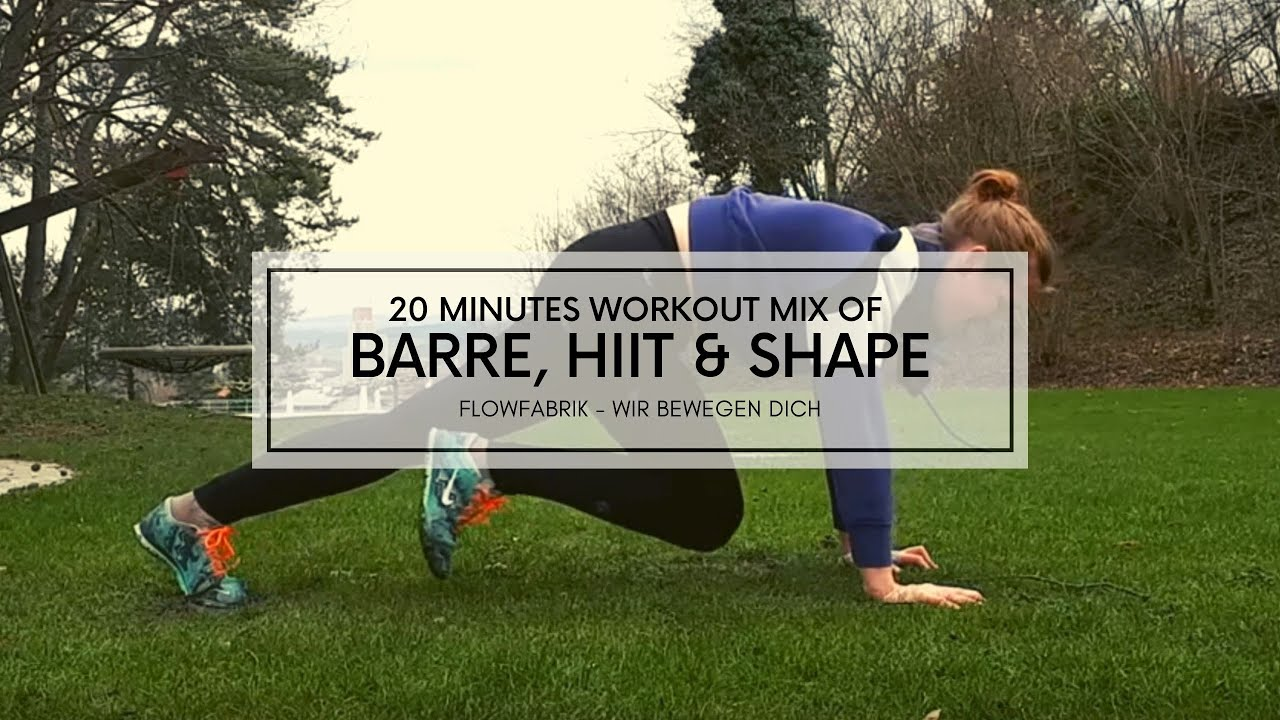 VIDEO: A mix of Barre, Hiit and Shape