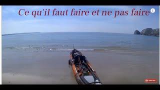 Kayak de pêche, choses à faire et à ne pas faire
