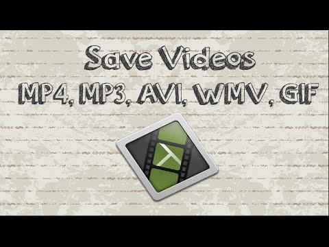 How to save Camtasia videos as mp4, mp3, AVI, WMV, GIF