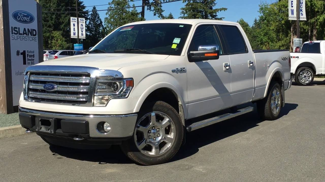 2014 ford f 150 4wd supercrew 157 lariat moonroof review island ford