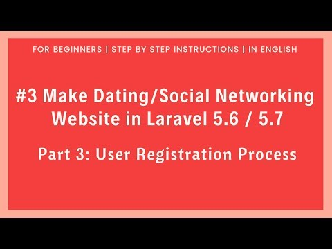 dating registration form
