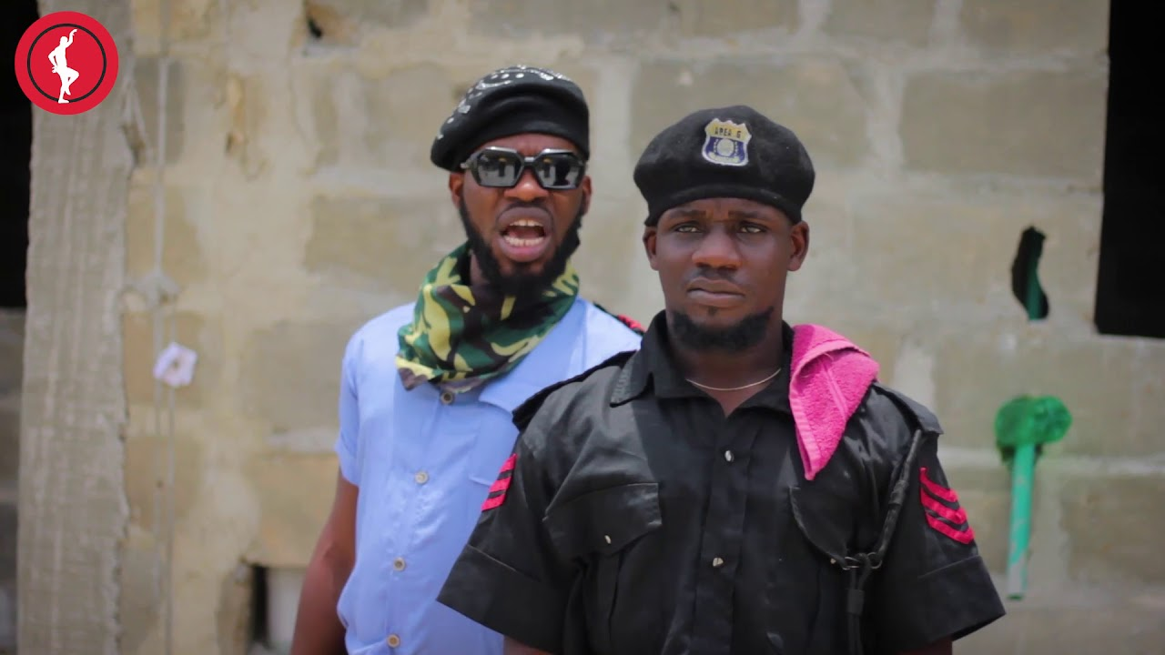 POLICE TRAINING (Full video) Brodashaggi | officer woos | comedy | oya hit me