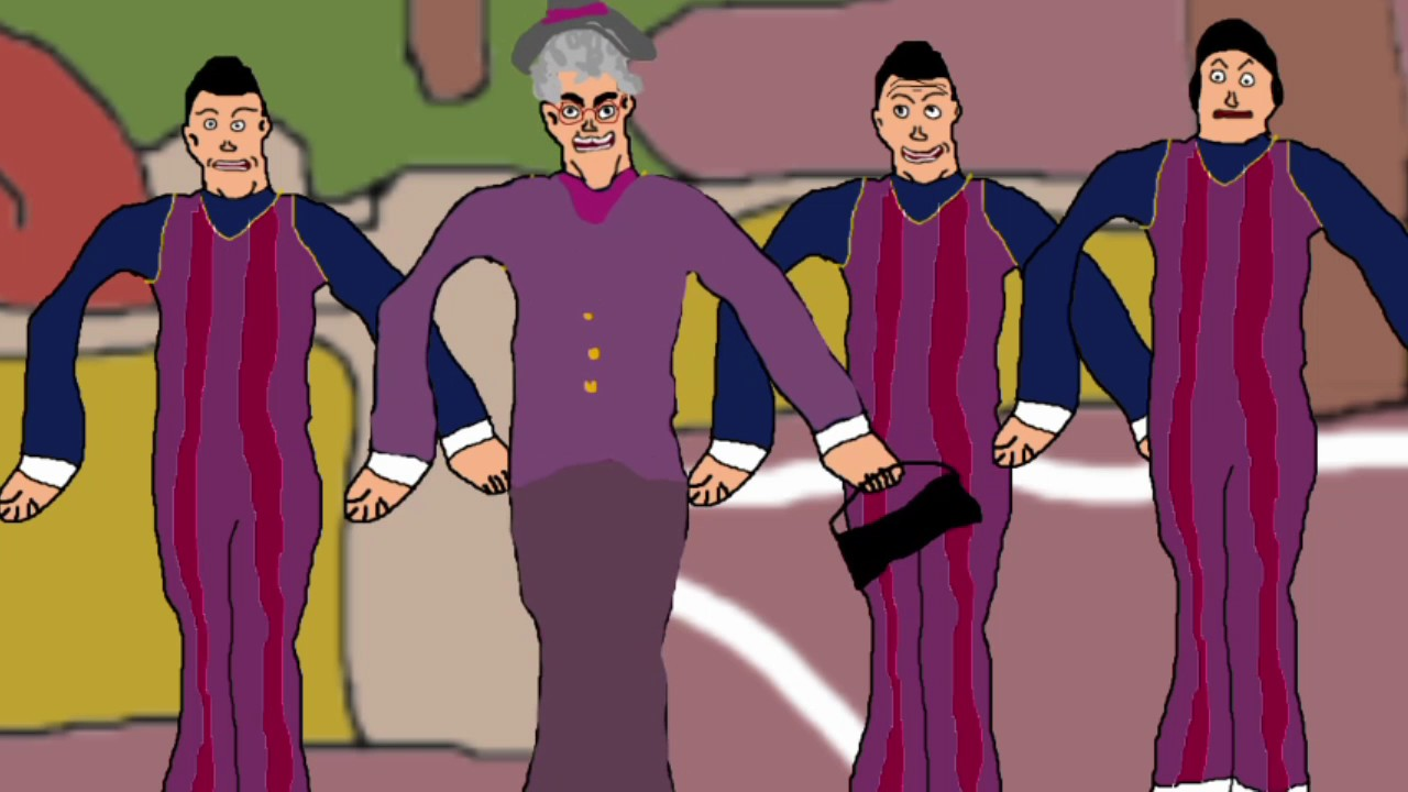We Are Number One but everything is poorly drawn in Microsoft Paint