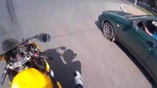 Обычные пару минут мотоциклиста из Оренбурга