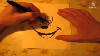 Рисуем Микки Мауса правильно