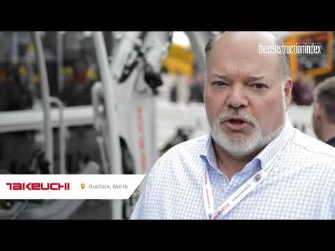 Takeuchi Introducing The Electric TB220 At Bauma 2019