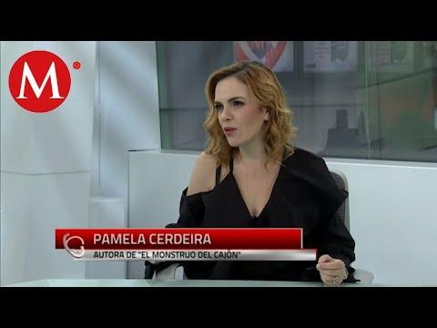 "Pamela Cerdeira, Autora de ""El Monstruo del Cajón"" | En 15"