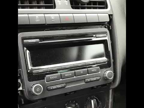 Double Din Stereo Install In A Vw Polo 2010 Youtube
