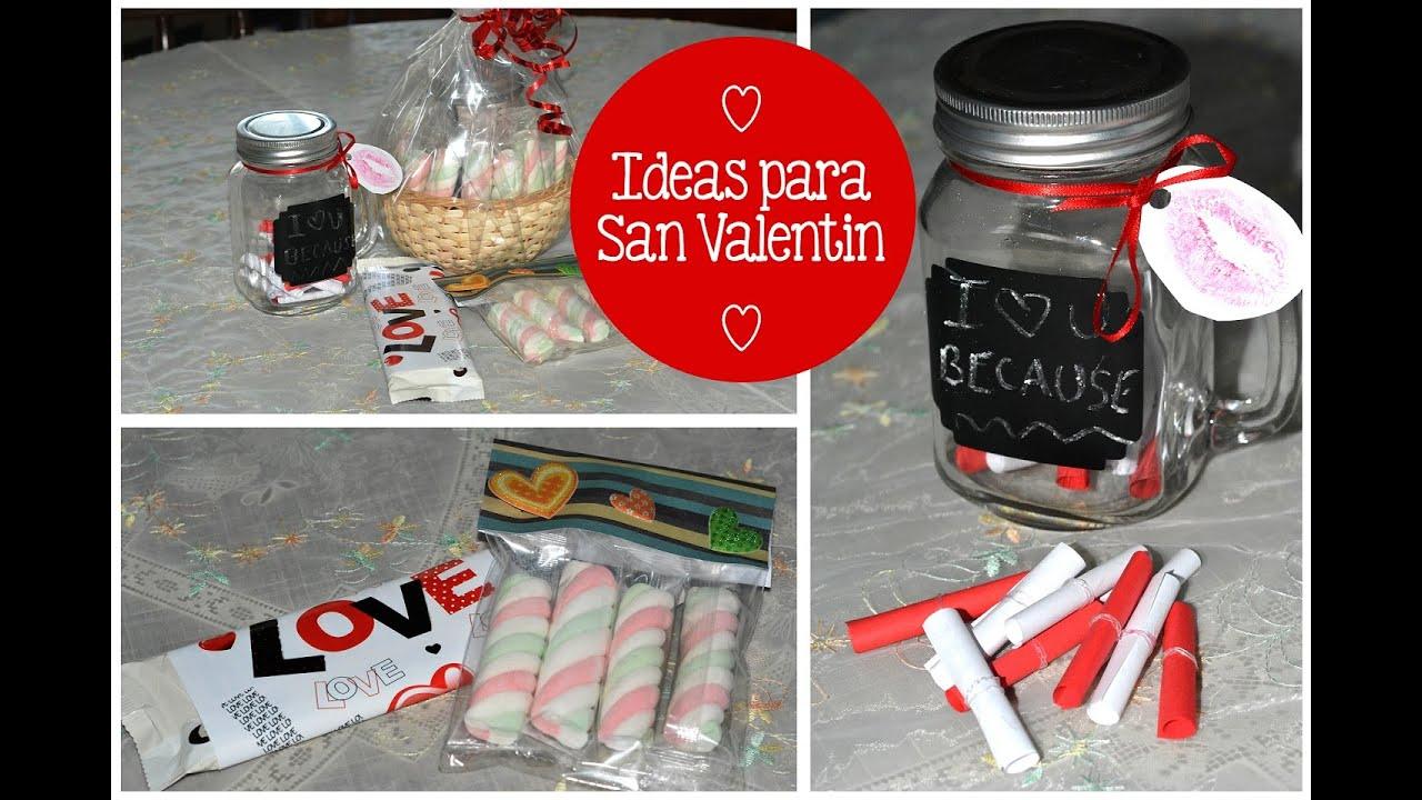 Diy ideas para san valentin youtube - Ideas para sanvalentin ...