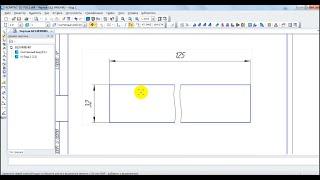 Как добавить разрыв вида в Компас 3D V16