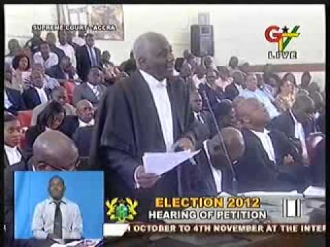 Final Address by Counsel for 3rd Respondent Tsatsu Tsikata - 2012 Election Petition Hearing (7-8-13)
