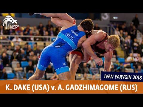 GOLD FS - 79 kg: K. DAKE (USA) v. A. GADZHIMAGOME (RUS)