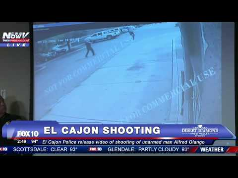 Police release video of fatal El Cajon OIS