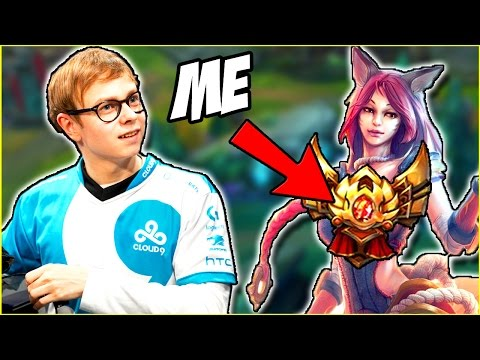FIRST TIME AHRI VS C9 JENSEN... ft. Redmercy - Actually GOING for RANK 1 - Ep. 72 | LoL