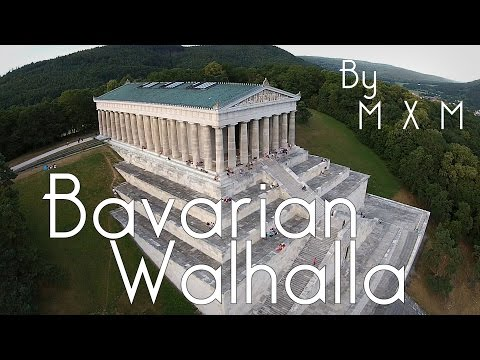 Bavarian Walhalla - A DJI Phantom Regensburg Video