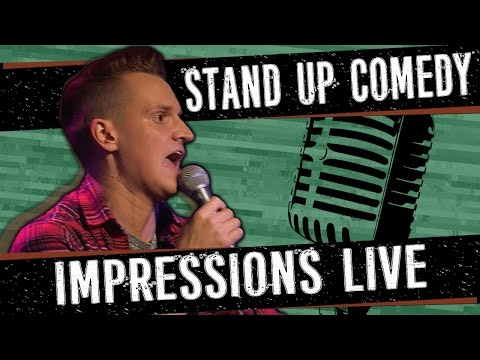 POP STAR & CELEBRITY IMPRESSIONS - Stand Up Comedy - Philip Green
