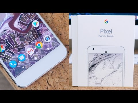Google Pixel XL Unboxing and First...