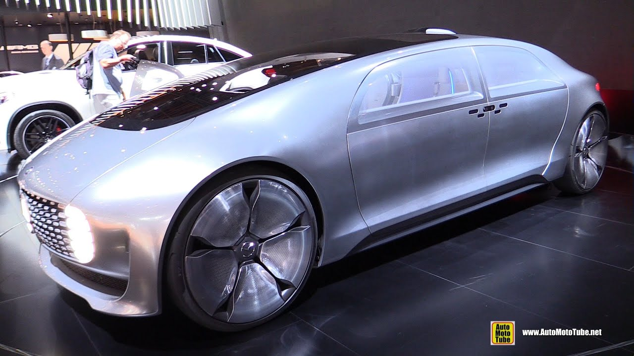 mercedes f 015 concept self driving vehicle exterior interior walkaround 2015 detroit auto. Black Bedroom Furniture Sets. Home Design Ideas