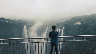 JOG FALLS  CINEMATIC TRAVEL VIDEO || WATERFALL IN KARNATAKA