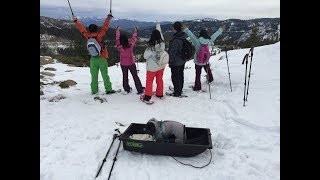 Snowshoe Tour by Lake Tahoe at Donner Summit