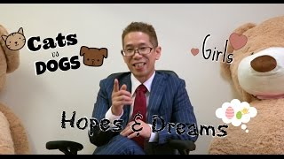 Ask Mr Sato Ep. 1 – Love, Dreams, Cats vs Dogs